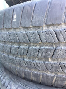 265 70R17 8 Michelin All Weather Tires