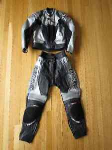 Woman's Teknic motorcycle leather suit / jacket (2 piece)