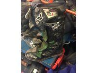 Tcx 2.1 pro mx / motocross boots 9/10