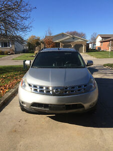 2005 Nissan Murano SL SUV, Crossover -Excellent for Parts/Fixing Kitchener / Waterloo Kitchener Area image 1