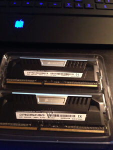 Corsair Vengeance Pro Series 2*4G DDR3 1866MHz