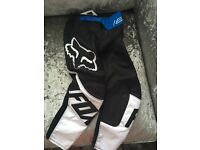 Kids youth small fox top and race pants