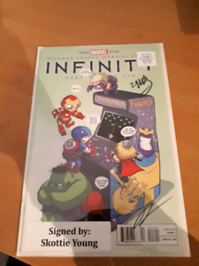 SIGNED SKOTTIE YOUNG INFINITY PART 1 (9.6 NM)