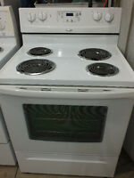 Clean. Whirlpool Stove