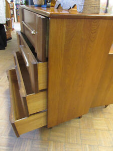 MID CENTURY MODERN ELM DRESSERS AND NIGHT TABLE Edmonton Edmonton Area image 3