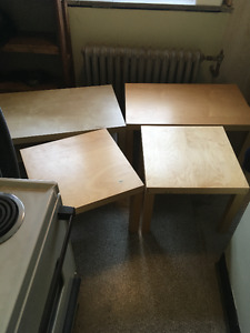IKEA Coffee Tables and End Tables