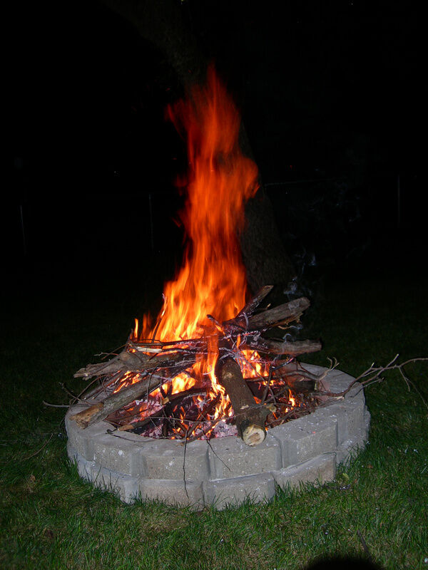 how to make an above ground fire pit ebay. Black Bedroom Furniture Sets. Home Design Ideas