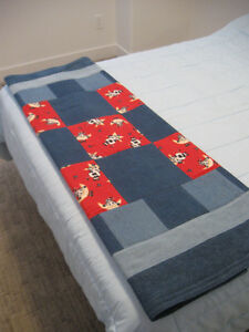 Denim & Flannel Cow Quilt Prince George British Columbia image 5