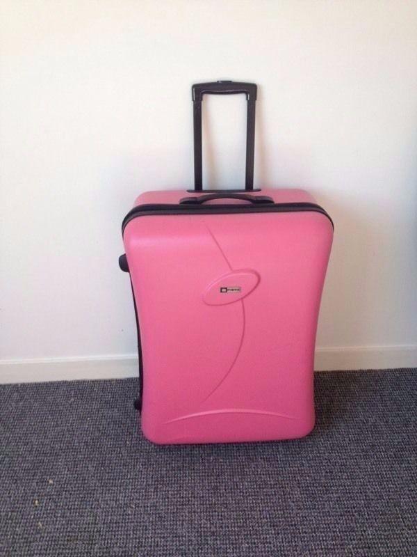 Large Pink Suitcase | in Sefton Park, Merseyside | Gumtree