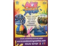 Slides, Bouncy Castles, Disco Domes, Mascots, Face Painting, Soft Play, Glasgow Renfrewshire