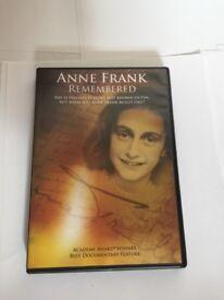 Anne Frank DVDs