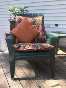 Chairs for the deck and the sun