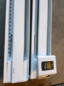 Plinthes  électriques et thermostat programmable Stelpro