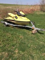 Seadoo and trailer