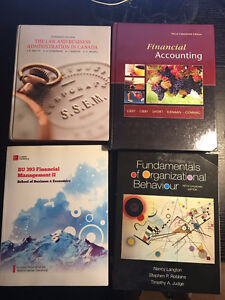 Used Textbooks Laurier WLU Mainly Econ & Business