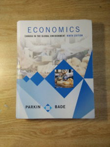 Economics Canada In The Global Enviornment - Parkin and Bade