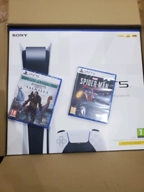 PlayStation 5 Disc edition and game