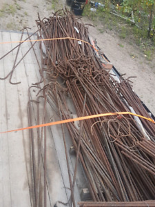 Rebar 1/2 inch lots of it