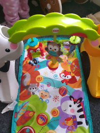 Play gym and activity baby walker for sale  Doncaster, South Yorkshire