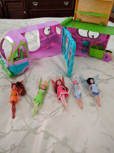 Tinkerbell Fairies and truck