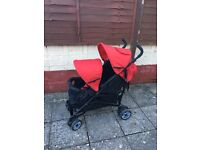 My child double tandem stroller pretty much new! £70 Ono