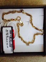 Nice gold bracelet.