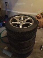 Winter tires on 17 inch rims