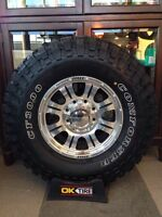 Dodge truck Tires and rims package