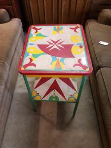 Colourful Table @HFHGTA Restore Etobicoke  T-001