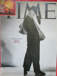 Time Magazine May 25 1998 Frank Sinatra West Island Greater Montréal image 1
