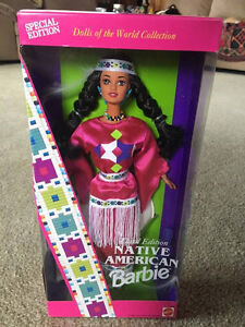 COLLECTIBLE NATIVE AMERICAN BARBIE DOLL