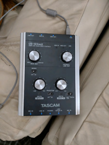 Tascam USB audio interface USB 122 MKII