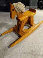 Rocking horse , great for staging or kids room