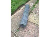 Chicken wire, perfect for chicken coop, big roll