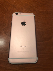 Iphone 6S 128go (Rose)