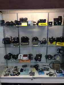 Wide Variety of Cameras, Lenses