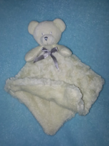 Mint Green Baby Security Blanket Lovey Bear Toy Blankets &Beyond