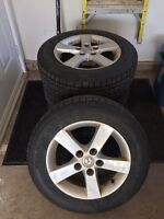 Winter tires and Mazda rims