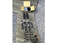 BMW E82 1 Series M Sport pair front & rear suspension & springs