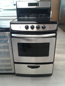 "24"" GE STOVE  STANLESS STEELES"