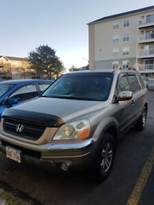 2003 8 Seater Honda Pilot for sale by owner MVI October 2019