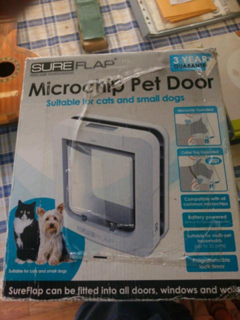 Sureflap Microchip Pet Door Pet Products Gumtree Australia Port