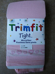 Toddler Size 4-6 Microfiber Footless Tights