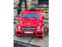 Mercedes G65, Red,Parental Remote Control & Self Drive, Free Numberplates, Ride-On