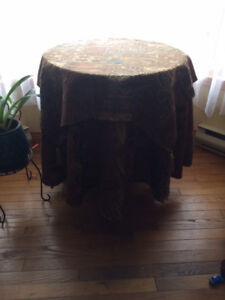 Accent Table Cover
