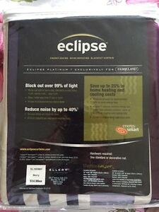 """Brand new in packaging - 2 x blackout curtains 52"""" x 96"""""""