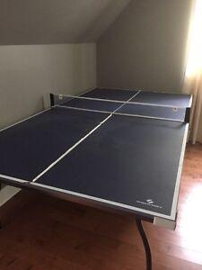 Table ping pong sur roulettes- Tennis sur table