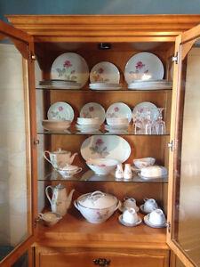 Set de vaisselle Zylstra rose