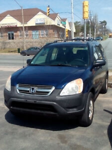 2004 Honda CR-V LX SUV,  4X4 LOADED  ONLY $3150.  SOLD