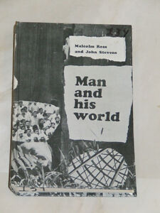 1960s-'70s school textbook: 'Man and His World'